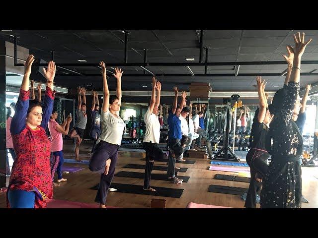 ???? ??? Power Ashtanga Yoga in Ahmedabad with Yoga Guru Dheeraj