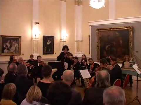 Zko Maxim Fedotov: Bach Concerto for violin and orchestra in A minor, BWV1041 (Allegro)