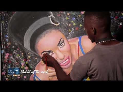 Help Provide Art Supplies and Launch an Art Gallery - Sierra Leonean Artist