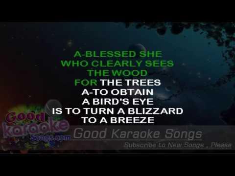 Nice To Know You -  Incubus (Lyrics Karaoke) [ goodkaraokesongs.com ]
