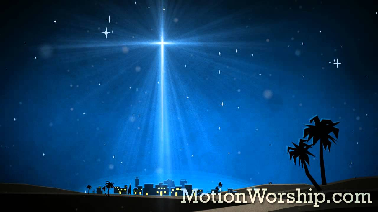 3d Moving Fireplace Wallpaper Christmas Artwork Bethlehem Star Hd Looping Background By