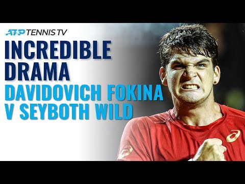 Underarm Serves & Arguments: Davidovich Fokina vs Seyboth Wild Drama!   Rio 2020 Highlights