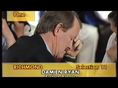 1994 AFL Draft - Richmond Selections