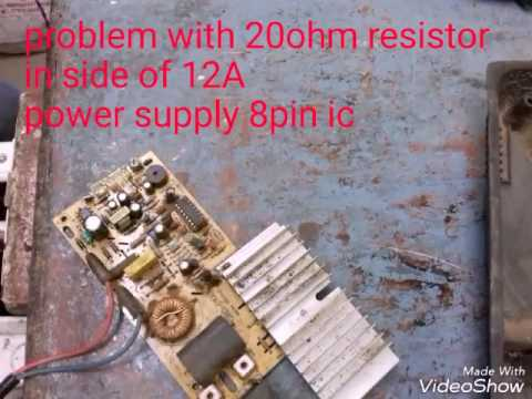 induction repair simple faulty pcb by local boy amit