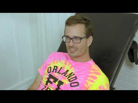 TICKLED - Behind the Scenes - David is Tickled - PART 1