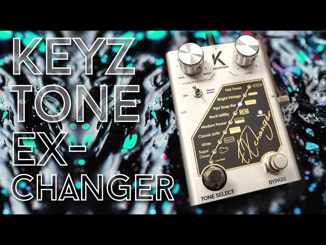 A Pedal to change your pickups? Keyztone ExChanger Review