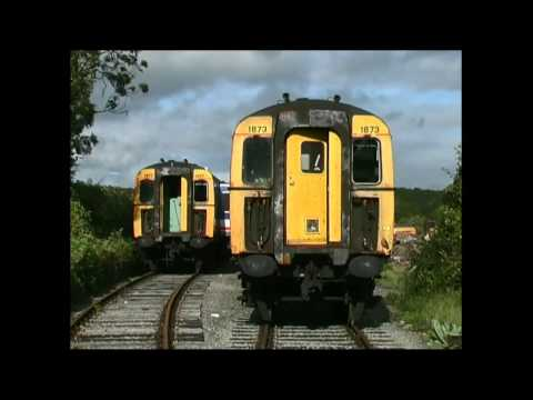 Scrap units and 87016 at Caerwent in 2004