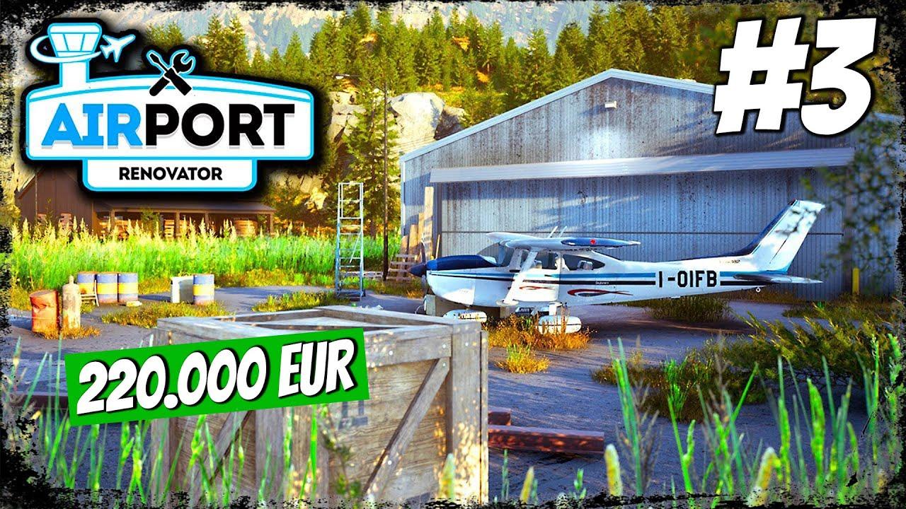 SREDIO AERODROM PA GA PRODAJEM ZA 220.000eur *Airport Renovator*
