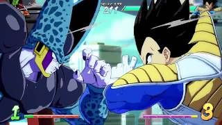 DBFZ Friendlies - MasonEliwood (Base Vegeta/Goku Blue/Black) vs. DarZr (Adult Gohan/Cell/Veg SS) #11