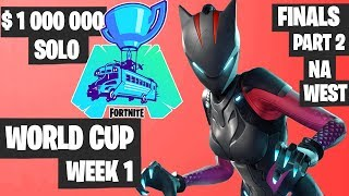 Fortnite World Cup WEEK 1 FINAL Part 2 Highlights - NA West Solo Day 2 [Fortnite Tournament 2019]