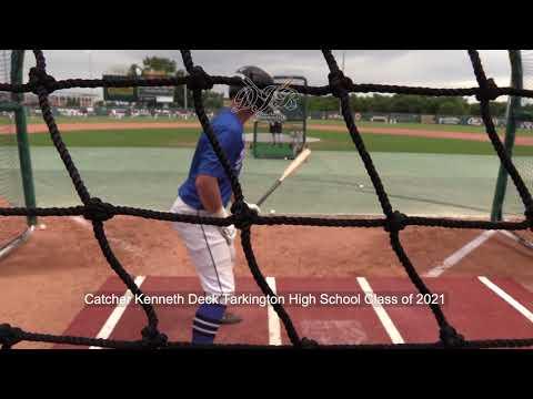 Catcher Kenneth Deck Tarkington High School Class of 2021