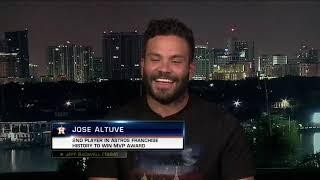 Jose Altuve Wins AL MVP