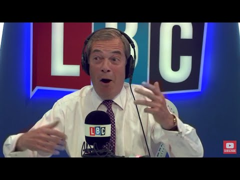 The Nigel Farage Show: Brexit negotiations continued in Brussels today. Live LBC - 17th July 2017