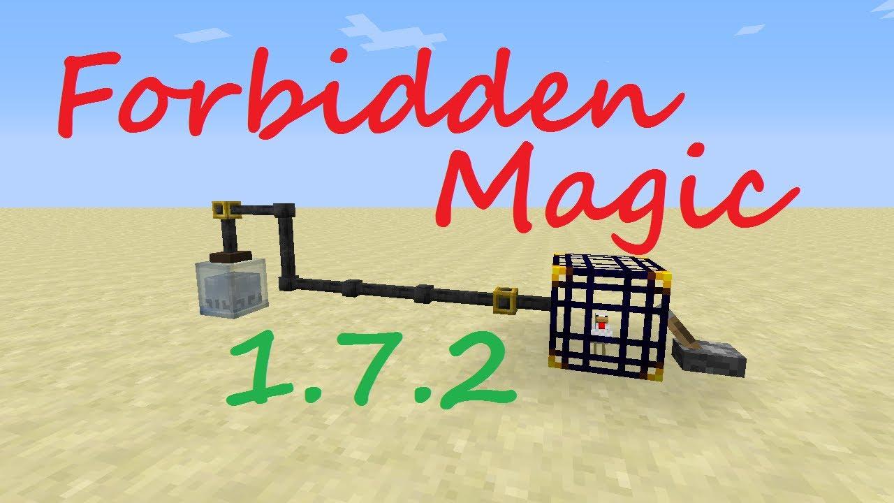 1 7 2 Minecraft Mod Spotlight Forbidden Magic YouTube