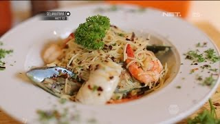Spaghetti Aglii Et Olio Seafood - eKitchen with Chef Norman