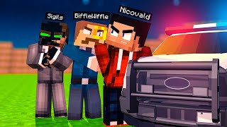 ARRESTING the MAFIA on Camp MINECRAFT