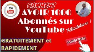 ???? COMMENT AVOIR 1000 Abonnés sur YouTube EN 2021 (YouTube Audio Library) #MaRétrospective #1KCreator