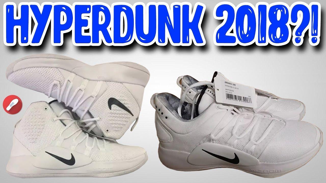 12015bdc649a New Nike Hyperdunk 2018 X TB LEAK! - YouTube