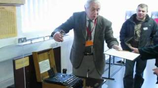 Demo of an Enigma Machine and the Turing Bombe @ Bletchley Park