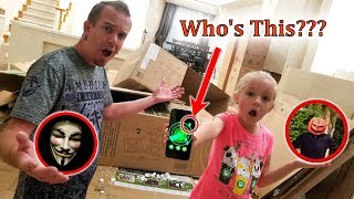 Game Master Spy Gadget Found in Abandoned Box Fort Prison! Pumpkin Patch Caught on Camera!!