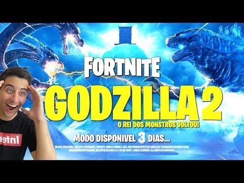 CONFIRMADO O Godzilla Vai Sair do Pico Polar Em 3 Dias Fortnite