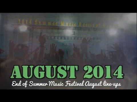2014 Summer Music Festival August Line-ups