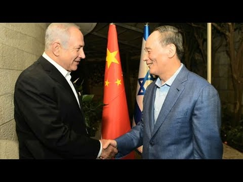 First visit to Israel and Palestine by a Chinese senior official in a decade