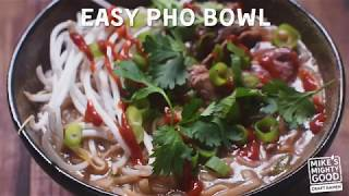 How to Make an Easy Beef Pho Bowl - Quick Easy Delicious Mike