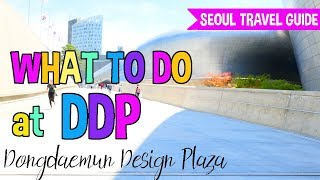 What to do at Dongdaemun Design Plaza (동대문디자인플라자)