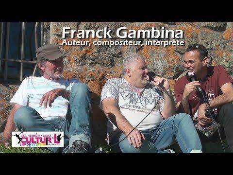 Les Rdv Cultur'L avec Franck Gambina