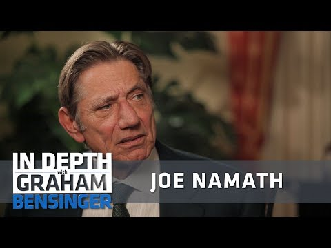Joe Namath: I was suspended for drinking