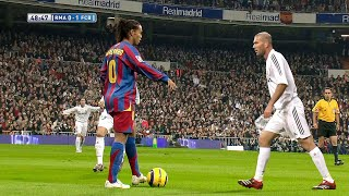 Ronaldinho & Zidane Showing Their Class in 2005