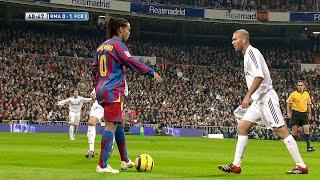 Ronaldinho \u0026 Zidane Showing Their Class in 2005