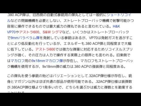 <b>380ACP弾</b> | Triton TV