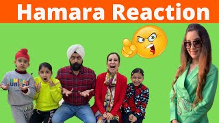 Hamara Reaction | RS 1313 SHORTS | Ramneek Singh 1313 | RS 1313 VLOGS #Shorts
