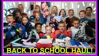 SCHOOL SHOPPING HAUL!  |  BACK TO SCHOOL!
