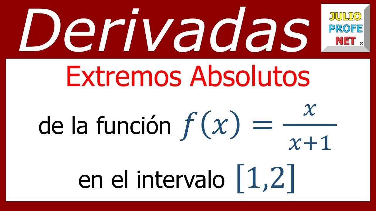 puntos extremos de una funcion de dos variables