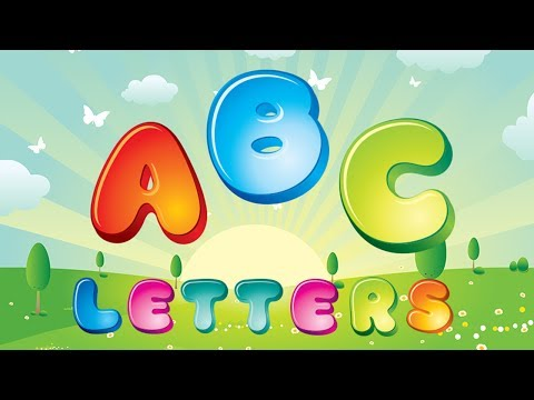 BEST ABC SONGS, LETTER BY LETTER ALPHABET, NURSERY SONGS