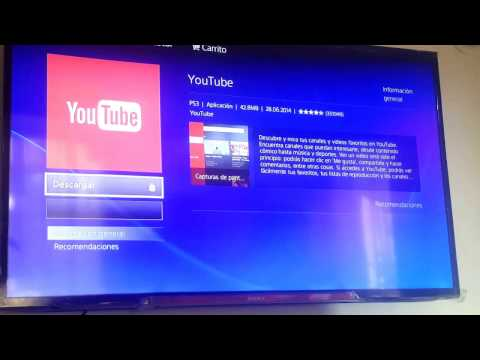 Cómo Descargar Youtube para PS3 [Gratis] // Download Youtube for PS3