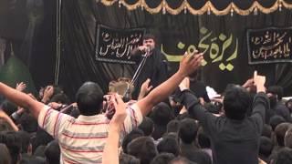 REZA E NAJAF Zakir Nasir Abbas Notak   09 Muharram Shahdat  Ali Akbar (a.s)2012 part 3