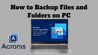 How to Backup Files and Folders on PC