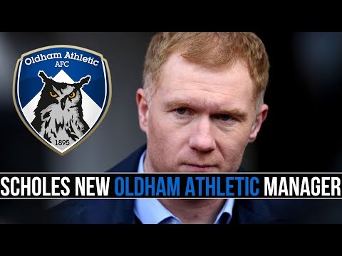 PAUL SCHOLES is the new manager of OLDHAM ATHLETIC