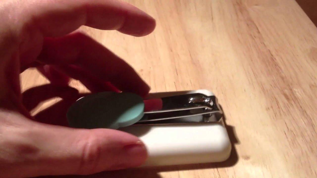 Table top nail clippers PETA UK Ltd. - YouTube