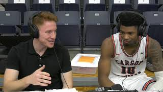 Carson-Newman Men's Basketball: EJ Bush recaps Warren Wilson 12-4-19