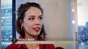 "Paula Beer im Interview zu ""Bad Banks 2"""