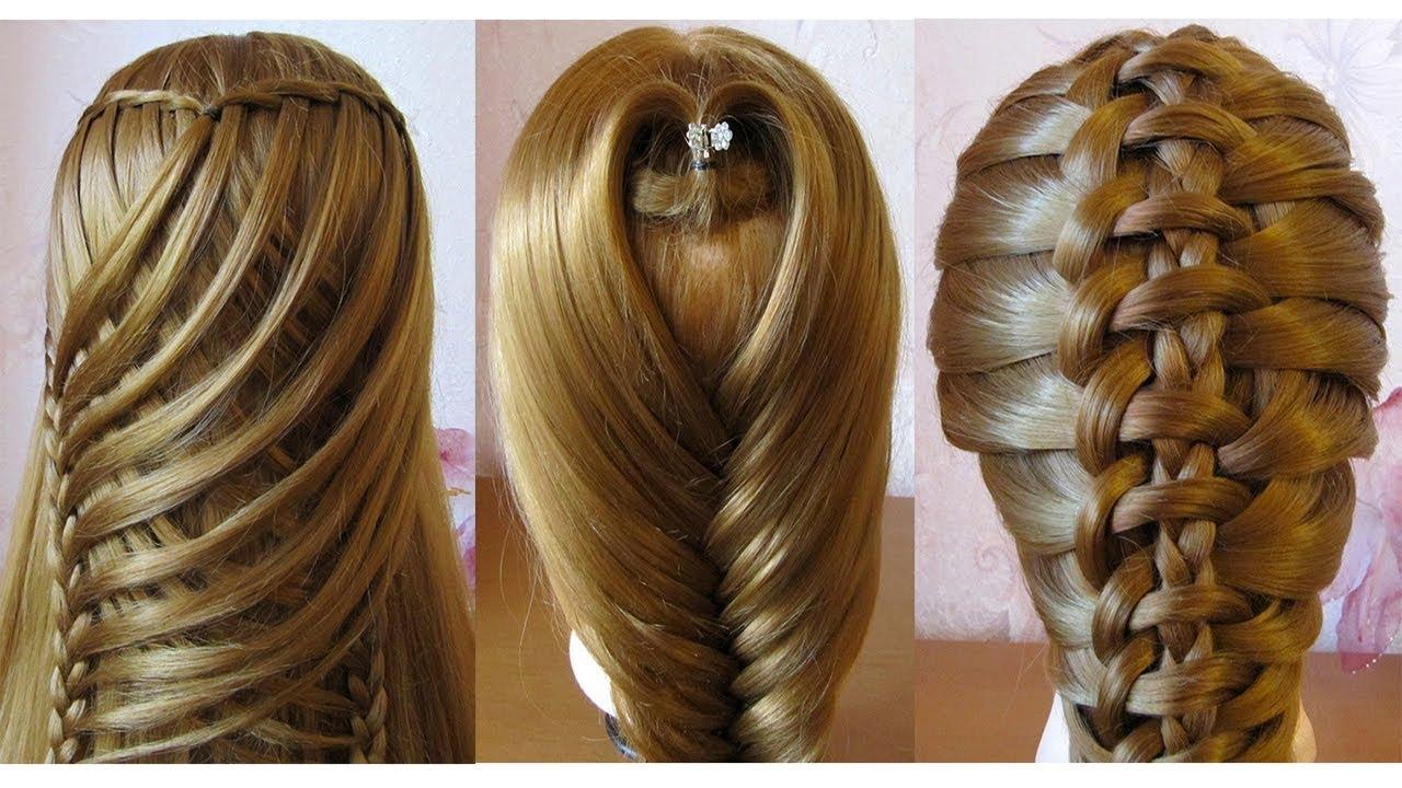 Tuto Coiffures Cheveux Longs Coiffures Pour Tous Les Jours Facile A Faire Youtube