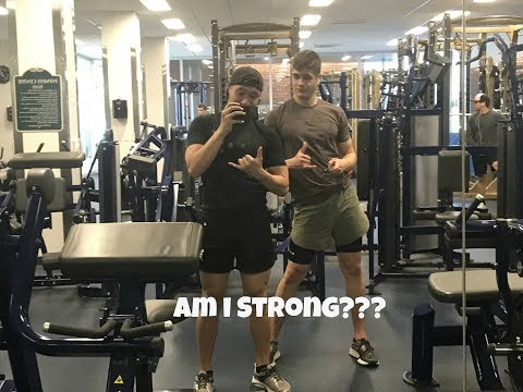 Cal Maritime Vlogs | How Strong Am I?