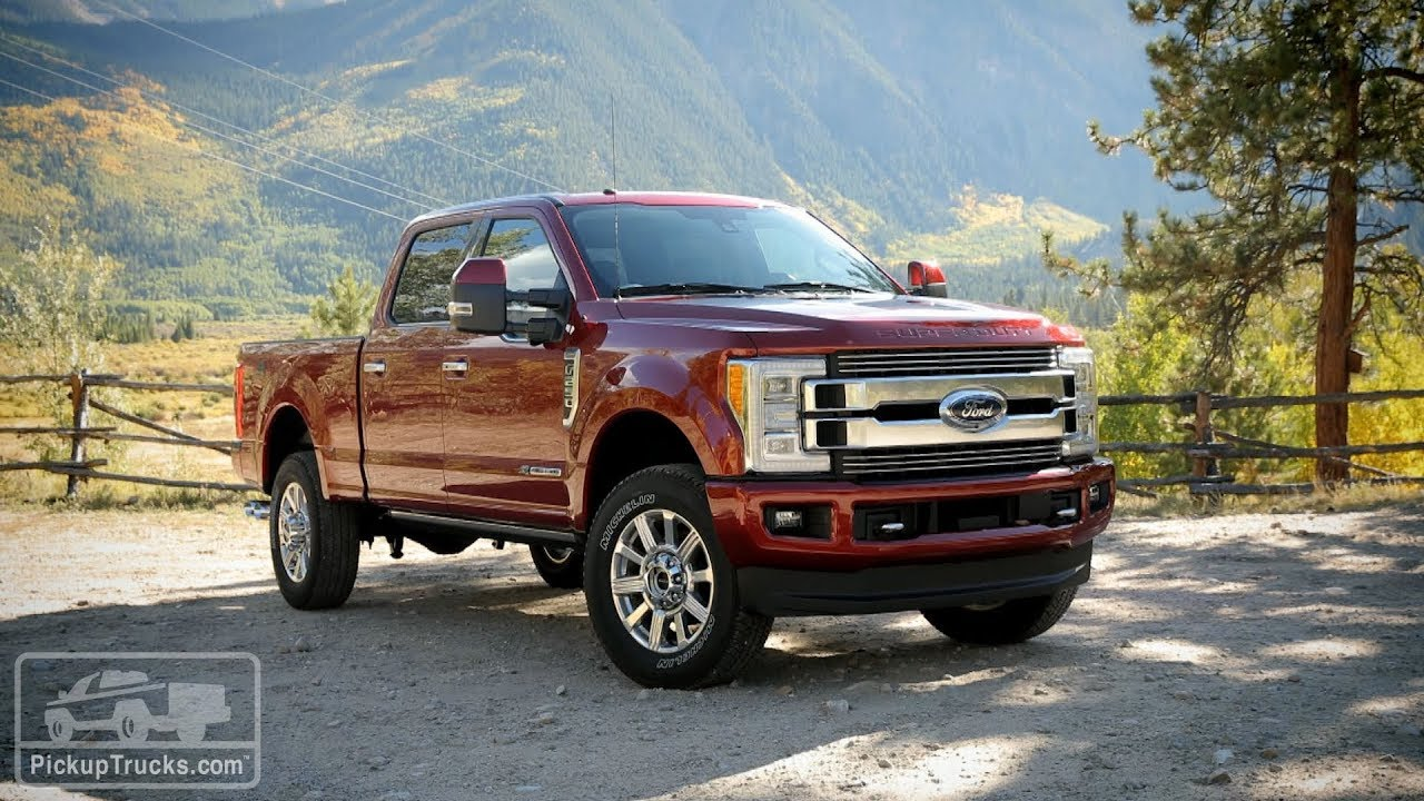 2018 ford f series super duty limited first impressions
