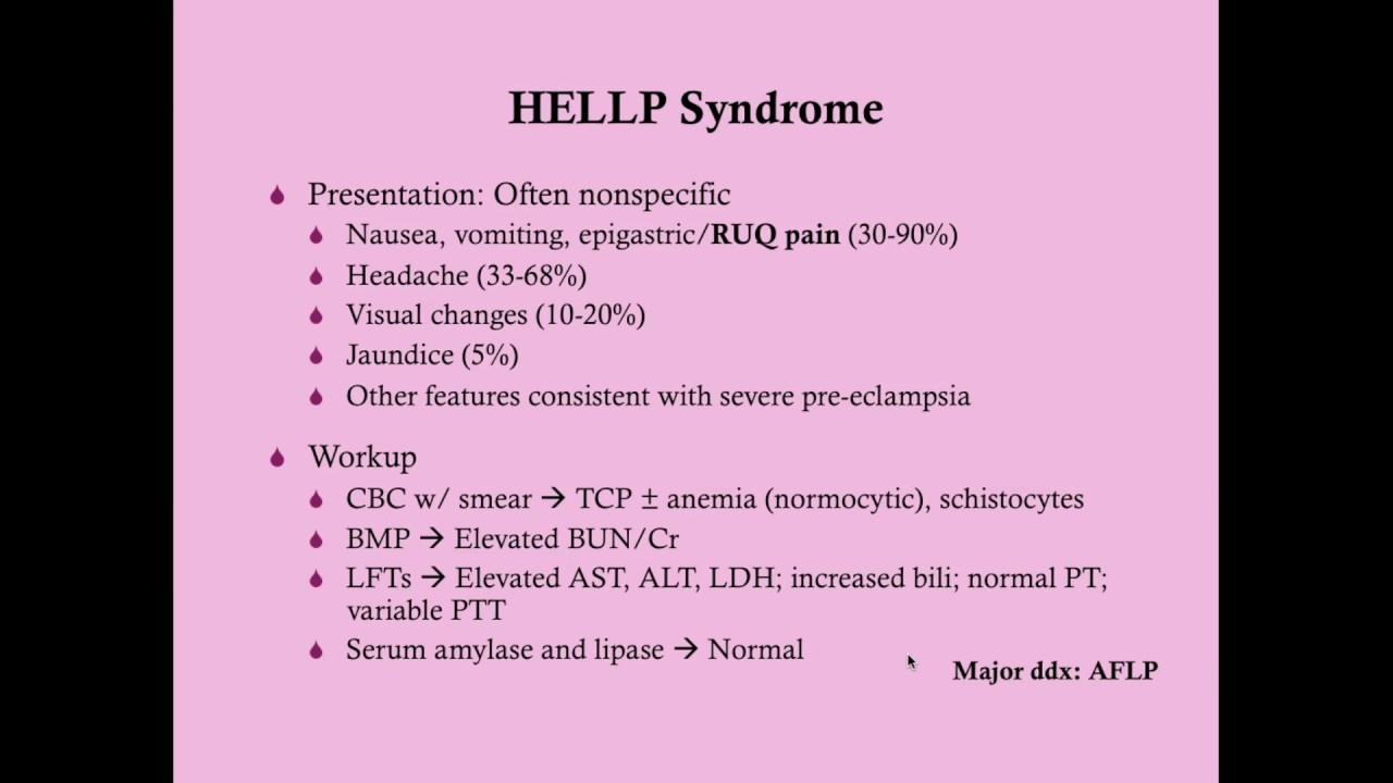 HELLP Syndrome - CRASH, Medical Review Series - YouTube