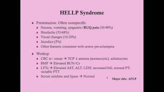 HELLP Syndrome - CRASH! Medical Review Series